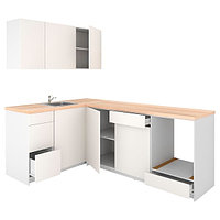 Кухня КНОКСХУЛЬТ белый 160x240x220 см ИКЕА, IKEA