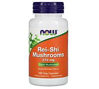 Now Foods, Грибы рейши, 270 мг, 100 растительных капсул