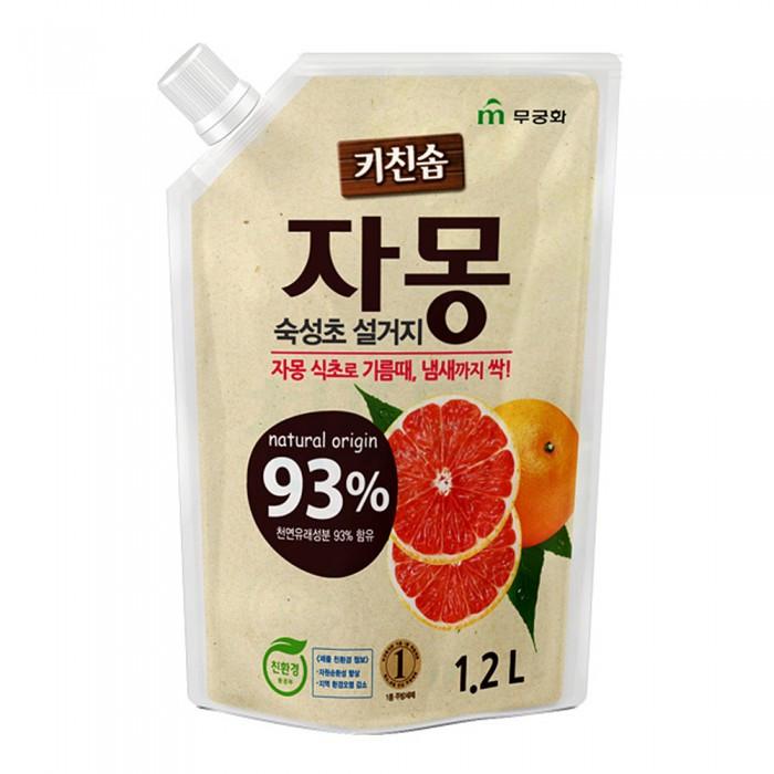 Средство для мытья посуды RICH BUBBLE Сочный грейпфрут 1,2л