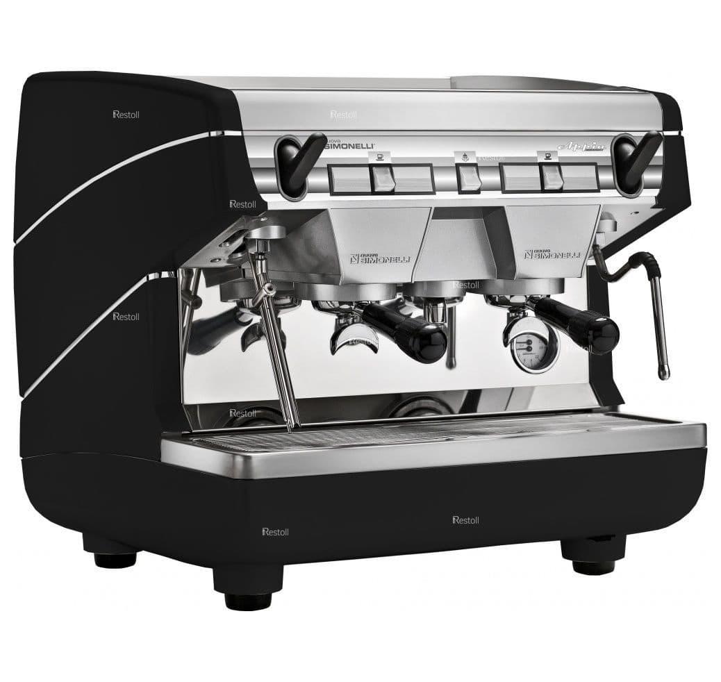 Кофемашина рожковая Nuova Simonelli Appia II Compact 2Gr S высокие группы