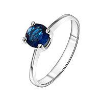 Серебряное кольцо с фианитом синт. TEOSA 121-1632-SP