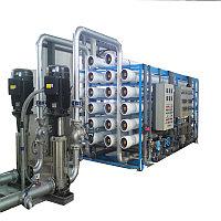5000 л / ч установка очистки воды обратного осмоса