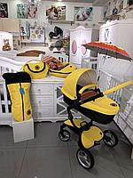 Коляска 2в1 Mima Xari Yellow Limited Edition