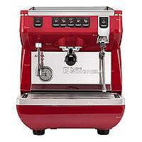 Кофемашина рожковая Nuova Simonelli Appia Life 1Gr V высокая группа, красная