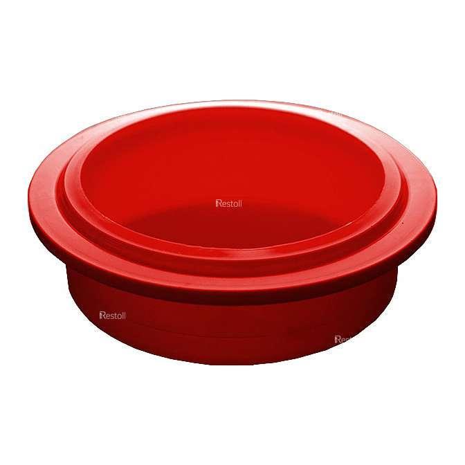 Крышка для стакана Pacojet 31949, красный пластик, 10 шт./уп.