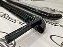 Пороги железные плоские с алюминиевым листом Нива LADA 4х4, Urban, фото 3