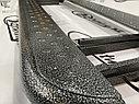 Пороги железные плоские с металлическим листом Лада Нива 4х4/ Urban, фото 5