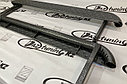 Пороги железные плоские с металлическим листом Лада Нива 4х4/ Urban, фото 6