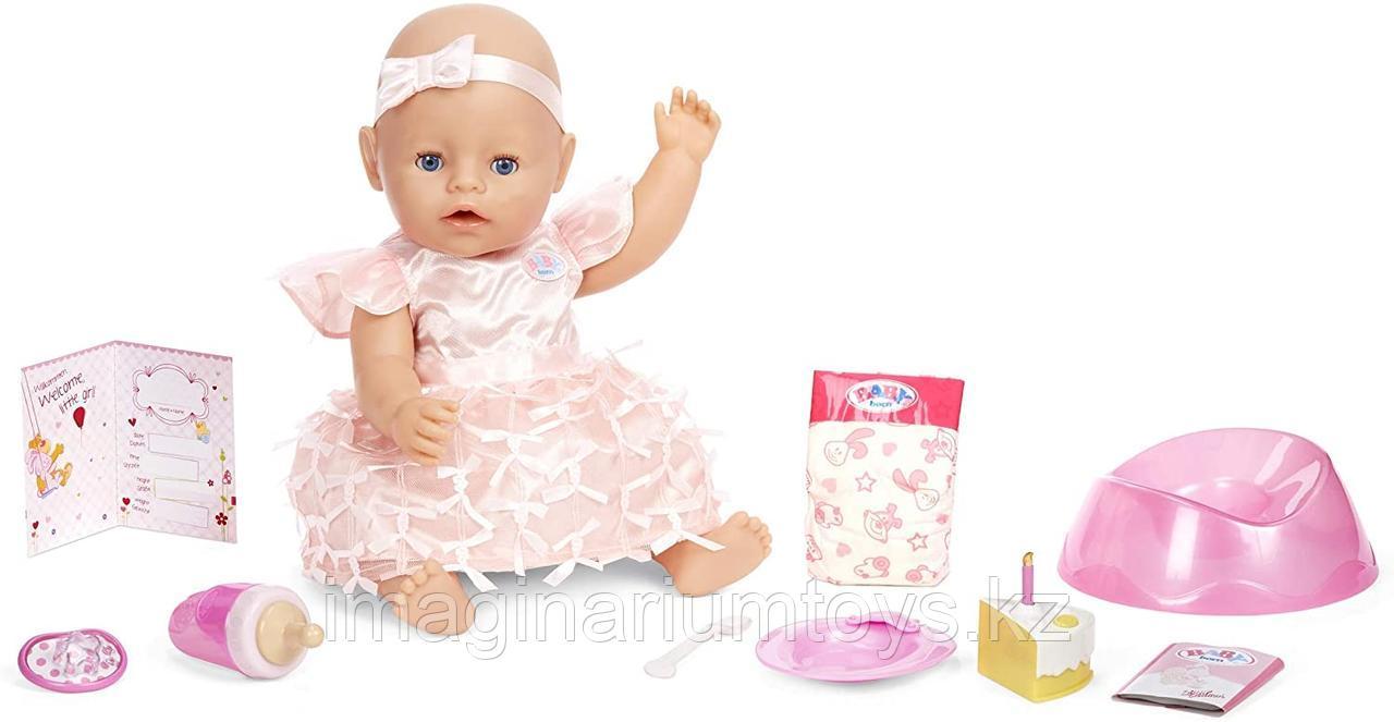 """Кукла Baby Born """"Праздничная. С Днем рождения"""""""
