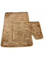 Набор ковриков д/ванной Zalel 2пр.60*100 (коричневый)