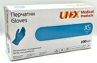 Перчатки нитриловые Unex