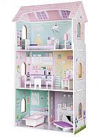 Кукольный дом Edufun с мебелью EF4121