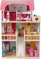 Кукольный дом Edufun с мебелью EF4109