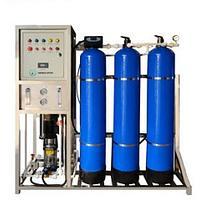 Установка для очистки воды с обратным осмосом ( производительностью 500л/час) RO-WITH