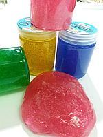 Slime с блестками