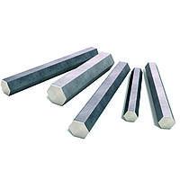 Шестигранник стальной 38 мм ст. 40 (40А) ГОСТ 1050-2013 горячекатаный