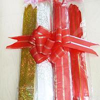 Самоскладывающийся бант для упаковки подарков, в ассортименте