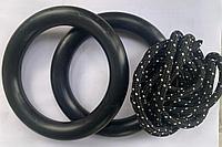 Кольца гимнастические Rokids, черные