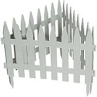 Забор декоративный Рейка, 28х300 см, белый, Россия Palisad