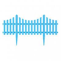 Забор декоративный Гибкий, 24х300 см, голубой, Россия Palisad