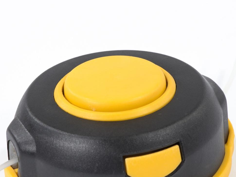 Катушка универсальная триммерная, гайка М8 х 1,25, гайка М10, винт М8-М10, левая резьба, шаг 1,25 мм Denzel - фото 2