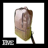 Мужской коричневый Рюкзак из Эко кожи