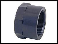 """Заглушка для труб PVC 1-1/2"""", внутренняя резьба, фото 1"""
