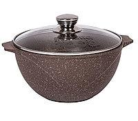 Казан для плова  Мечта Granit Brown 7 литров, фото 1
