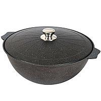 Казан для плова  Мечта Granit Black 10 литров