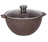 Казан для плова Мечта Granit Brown 10 литров, фото 1