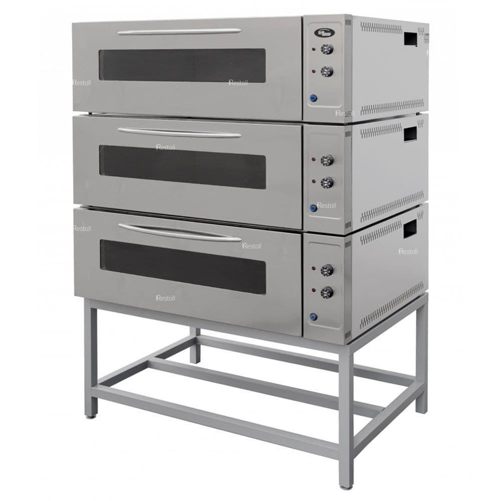 Шкаф жарочный Grill Master ШжЭ/3 нерж, без крыши и ножек 22223