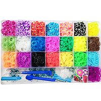 Набор для плетения Loom Bands (22 цвета)