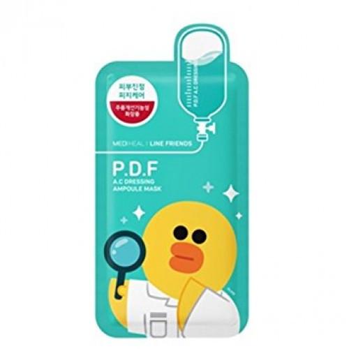 Medi heal P.D.F A C dressing ampoule mask ( Тканевая маска для проблемной кожи Корея)