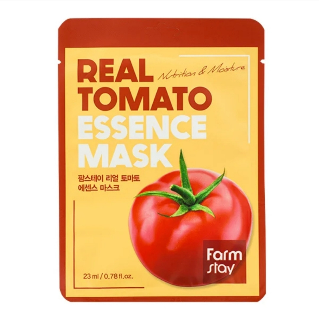 Тканевая маска Farmstay Real Tomato Essence Mask — Томат