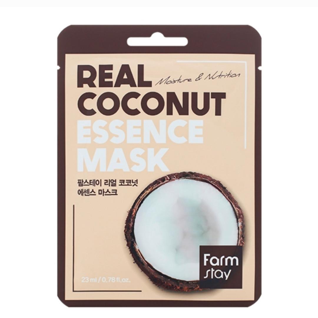 Тканевая маска для лица FarmStay Real Coconut Essence Mask – Кокос