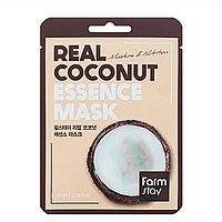 Тканевая маска для лица FarmStay Real Coconut Essence Mask Кокос
