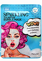 Маска для лица тканевая MeLoSo Sparkling Tox Peptide Bubble Mask