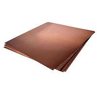 Лист бронзовый БрХ1 25х600х1500