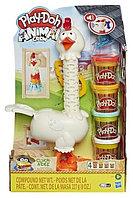 Пластилин для лепки Play-Doh Курочка - чудо в перьях