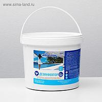 Быстрый стабилизированный хлор Aqualeon таб. 20 гр., 4 кг