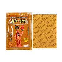 Противовоспалительный пластырь с красным женьшенем Gold Insam (30 г, Южная Корея)