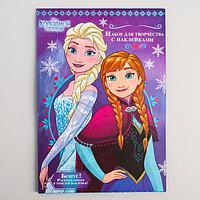 """Книга с наклейкам """"Верь в чудеса!"""", Холодное сердце"""