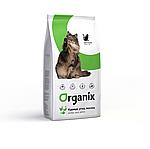 Organix Adult для взрослых кошек, курица, утка, лосось