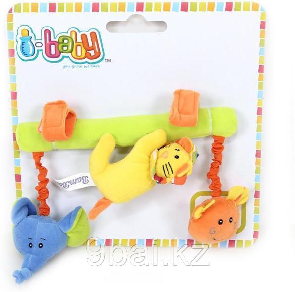 Мягкая игрушка I-BABY Друзья из джунглей 26 см