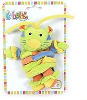 Мягкая игрушка I-BABY Дружок из джунглей 37 см