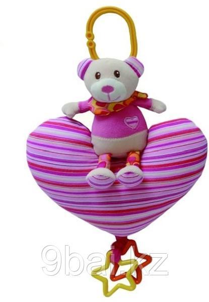 Развивающая игрушка I-BABY Мишка на сердечке