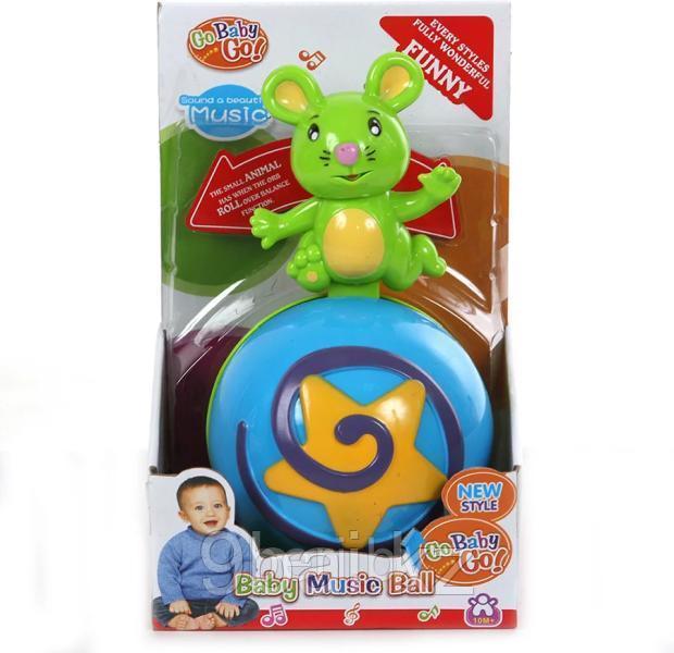 Развивающая игрушка Jia Le Toys музыкальный шар с мышкой