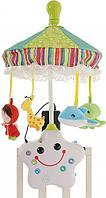 Развивающая игрушка La-Di-Da Музыкальный мобиль HAPPY TIME 2в1 FB01A-H02