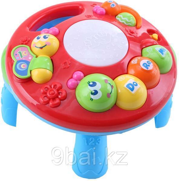 Развивающая игрушка TOT KIDS 2 в 1 Гусеница 6882249