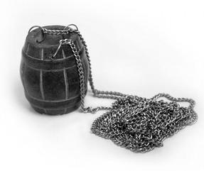Испаритель «Бочонок» из камня для бани и сауны